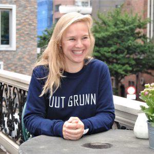 Uut Grunn – trui (blauw)