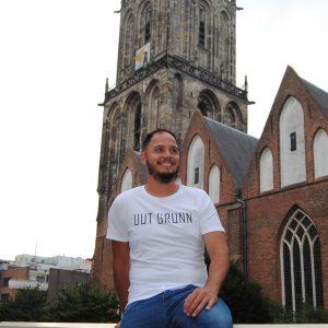 Uut Grunn – t-shirt (wit)