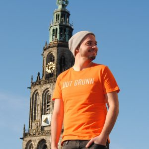 Uut Grunn – t-shirt (Oranje)