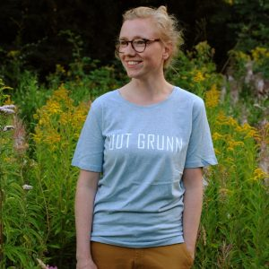 Uut Grunn – t-shirt (Ice Blue)